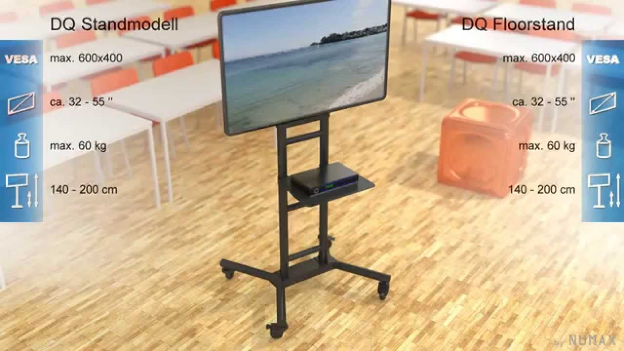 DQ TV vloerstandaard STB3131 - YouTube