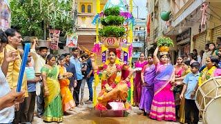 రాకేష్ బోనం అన్న ఓల్డ్ సిటీ గౌలిగూడ బోనాలు 2021 | GOWLIGUDA Bonalu 2021 Rakesh Bonam Anna