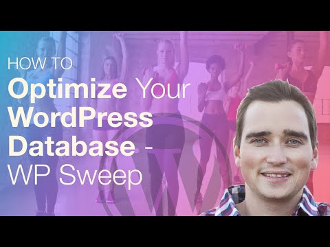 WP Sweep Database Optimization - Speed Up WordPress Website Tutorial