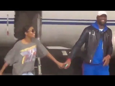 Dwyane Wade's Wife Gabrielle Union Starts DANCING as Soon as They Land in Miami