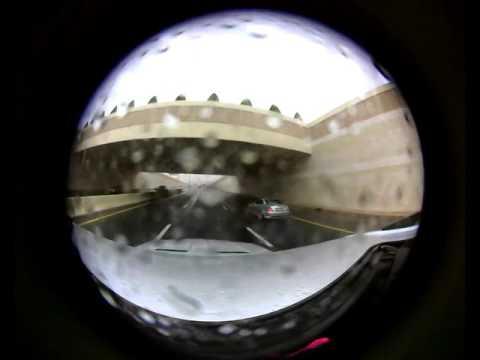 Dubai rain in virtual reality