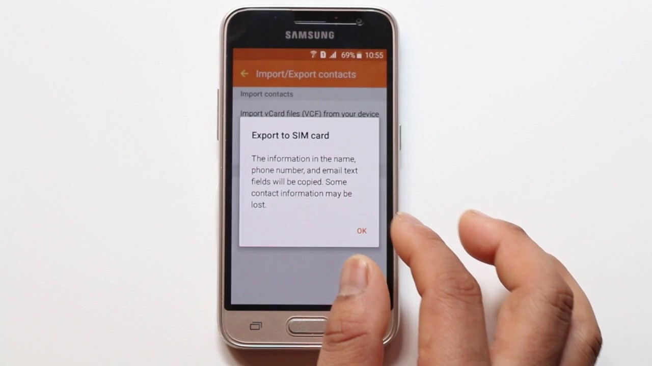 93ff95c912c How to export and import contacts from one android phone to another ...