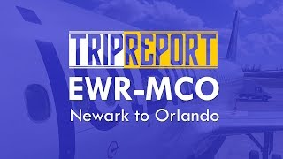 TRIPREPORT | JetBlue (Economy) |  A320 | Newark to Orlando | EWR-MCO