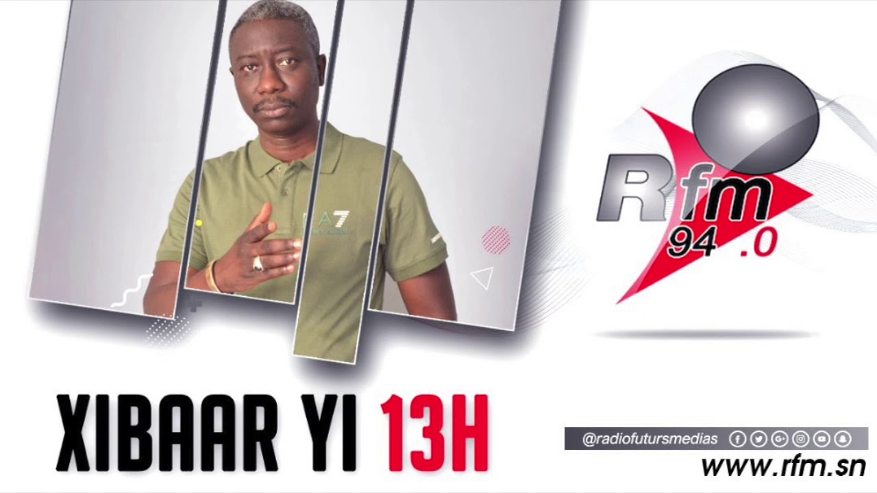 RFM - XIBAAR YI 13H - PR : PAPE NGAGNE NDIAYE - 03 JUILLET 2020