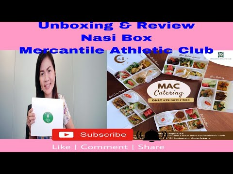 Unboxing & Review Nasi Box Mercantile Athletic Club