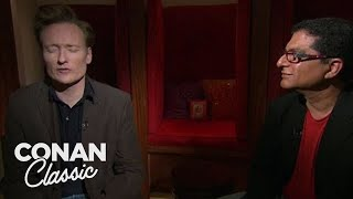 "Conan Visits Deepak Chopra At The Chopra Center - ""Late Night With Conan O'Brien"""