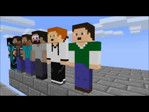 [Minecraft animation] Minecraft player School Episode 6: Parkour