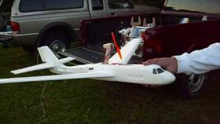 Foam Chuck Gliders Converted To R/c