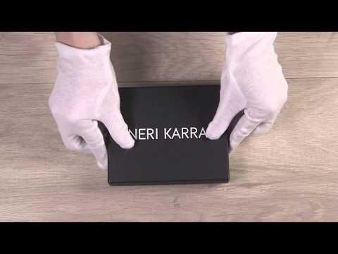 Портмоне мужское Neri Karra 0278.3-01.49 видео обзор