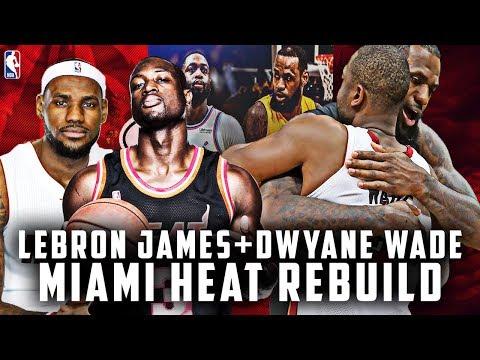 One. Final. Season. Lebron James + Dwyane Wade Miami Heat Rebuild! NBA 2K19 My League