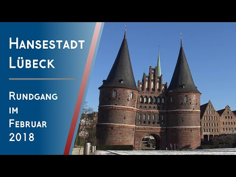 LÜBECK / Germany ~ Old Town Island Walking Tour