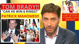 Patrick Mahomes(Kansas City Chiefs) Win 6 Super Bowls = G.O.A.T.? Get Up Mike Greenberg [Commentary]
