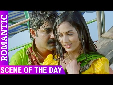 Srikanth Loving with Meenakshi Dixit   Love Scene Of The Day