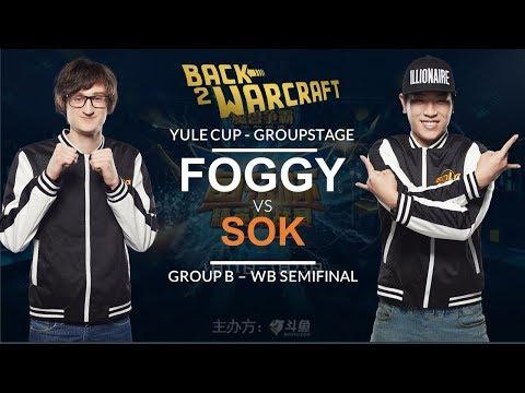 Warcraft 3 - Yule Cup Grp B - WB SF: [NE] Foggy vs. Sok [HU]
