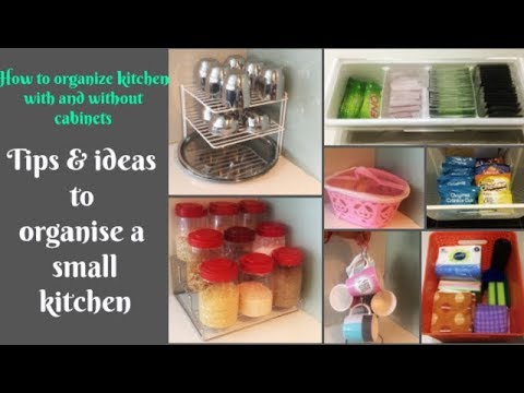 Some New Ideas To Organize A Small Indian Kitchen