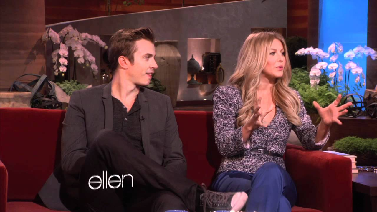 Julianne Hough Images >> Julianne Hough and Kenny Wormald Talk 'Footloose' - YouTube