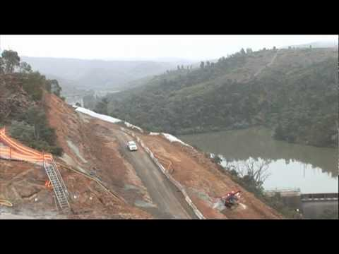 Enlarged Cotter Dam - Construction Activity July 2010