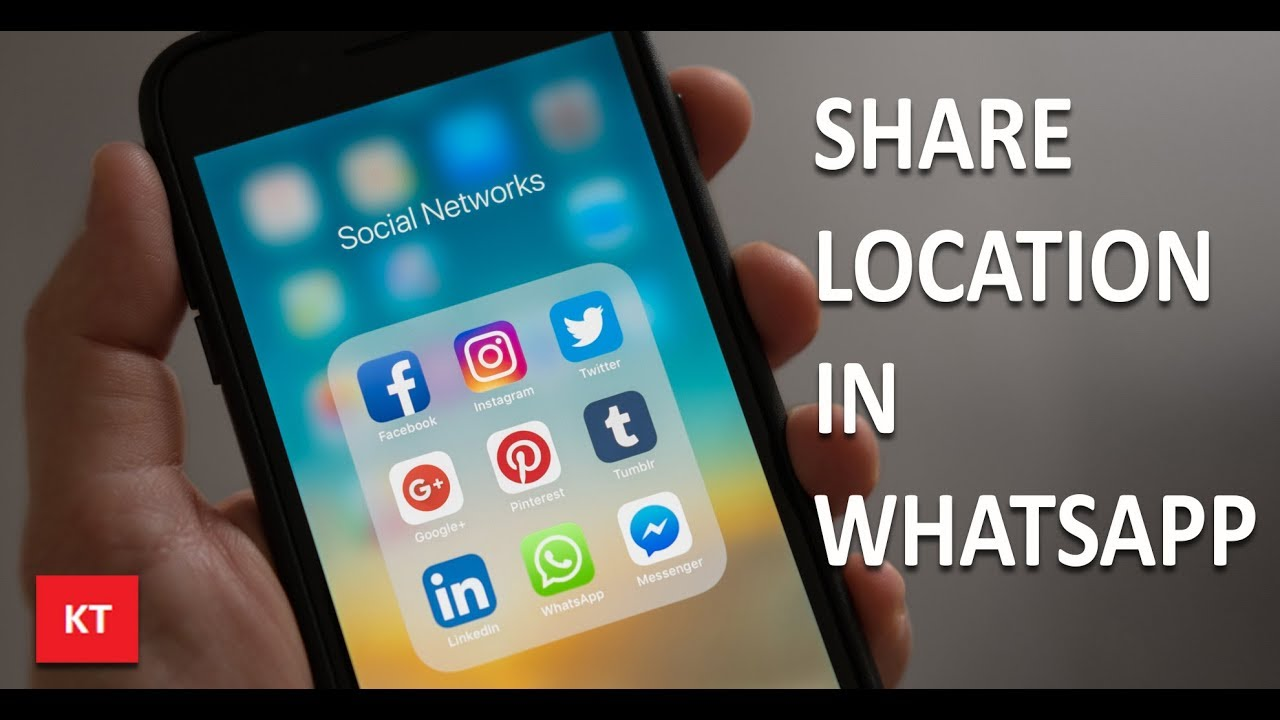 bcc9227aace1d How to share your location on whatsapp (iPhone) - YouTube