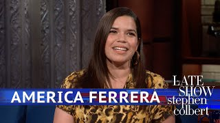 America Ferrera Marched In D.C. Four Weeks After Giving Birth