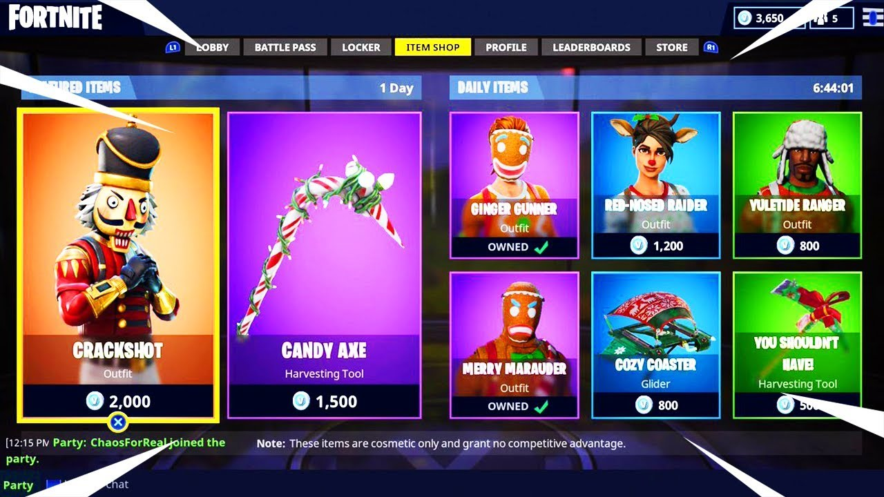 All Christmas Skins Fortnite.All Christmas Skins Returning To Fortnite In Season 7