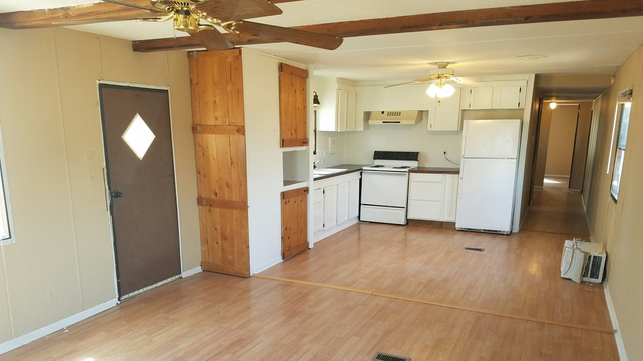Mobile Kitchen Trailer Granite Slab For Renovation Of 1978 Home, Flip To Rent Residual ...