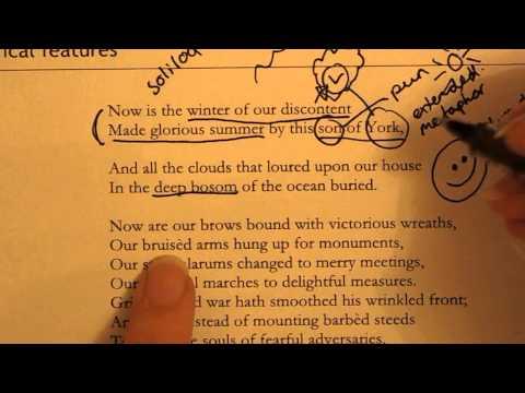 How to annotate Shakespeare - Richard III