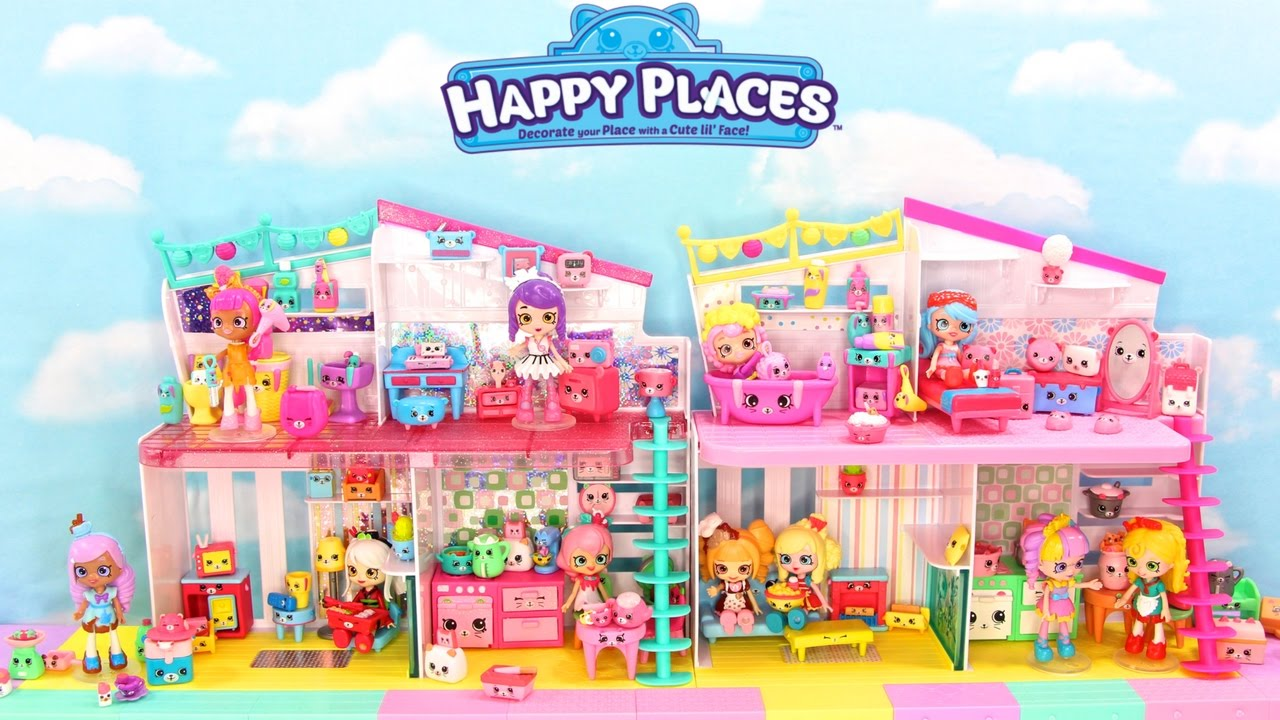 Mega Happy Places Mansion Dreamy Bear Bedroom Decoration