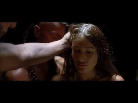 The New World (2005) Pocahontas saves John Smith