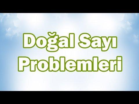 DOĞAL SAYI PROBLEMLERİ-1 Nasıl Çözülür? (2 ADIMLI) | 5. Sınıf Matematik