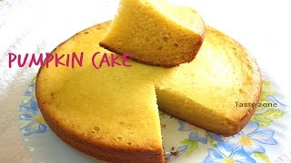 Pumpkin cake without oven