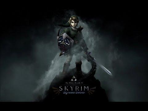 Skyrim Mod Spotlight: Zelda Ocarina of Time [Entire Hyrule Mod!]