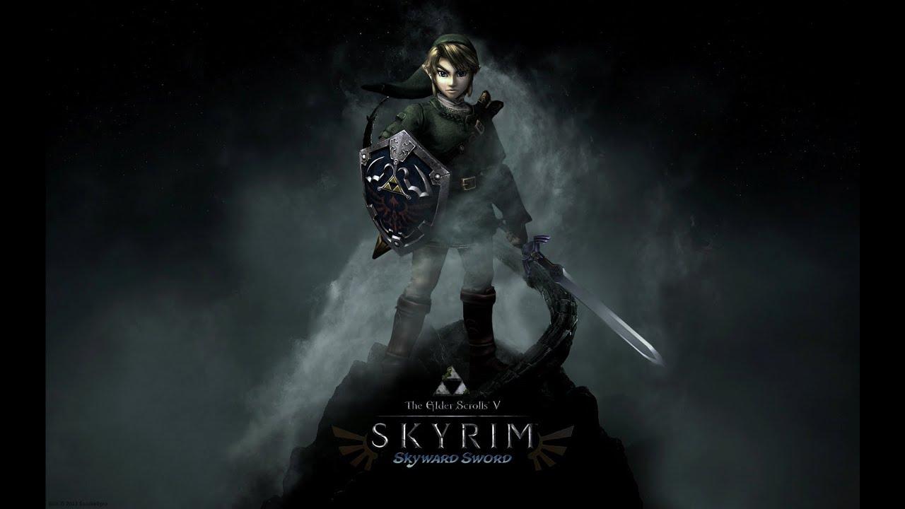 Skyrim Mod Spotlight Zelda Ocarina Of Time Entire Hyrule
