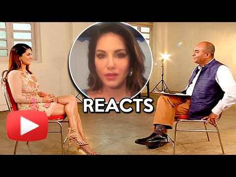 Watch: Sunny Leone REACTS To Her Interview With Bhupendra Chaubey Going Viral