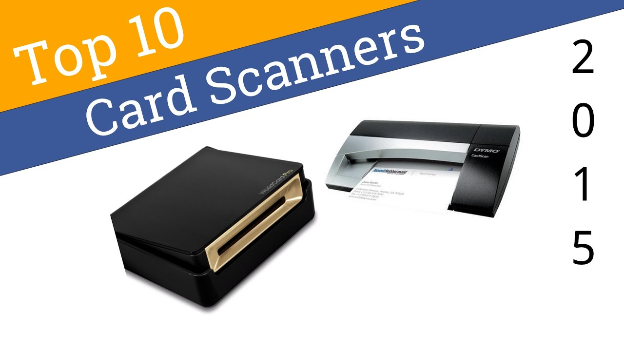 10 Best Business Card Scanners 2015 Youtube