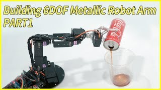 Arduino / Teensy 6 DOF / Axis Robotic Arm Inverse Kinematics