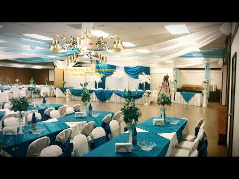 Faos events decoracion turquesa y plata en longview washington ...