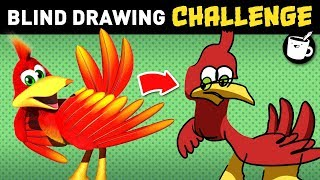 Artists Draw Popular Characters (Without Looking)