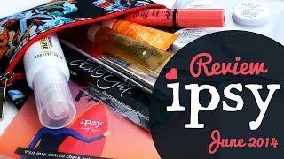 Ipsy Glambag Review  June 2014 | English Thumbnail