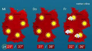 Wetter - Jetzt kommt die große Hitze (21.07.2019)