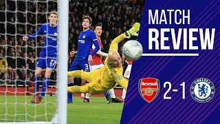 Chelsea 1-2 Arsenal LIVE Carabao Cup Review || Wenger BEATS CONTE AGAIN || Conte costs us