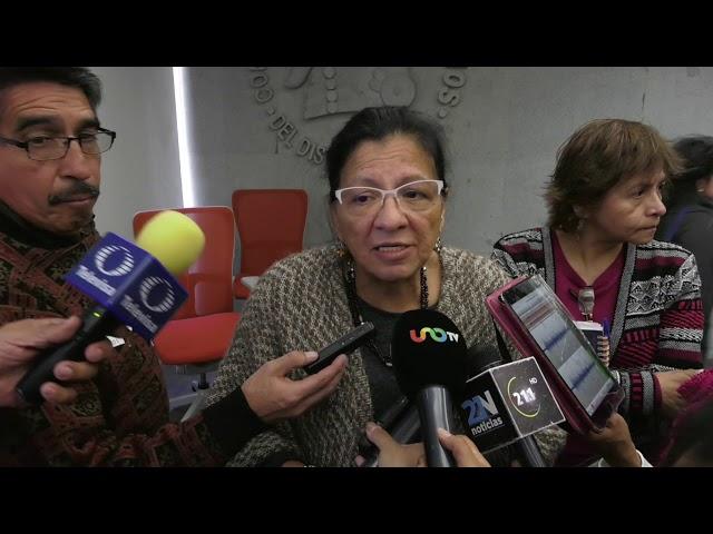 Entrevista de la Presidenta de la CDHCM, Nashieli Ramírez, Conferencia Trabajadoras del Hogar