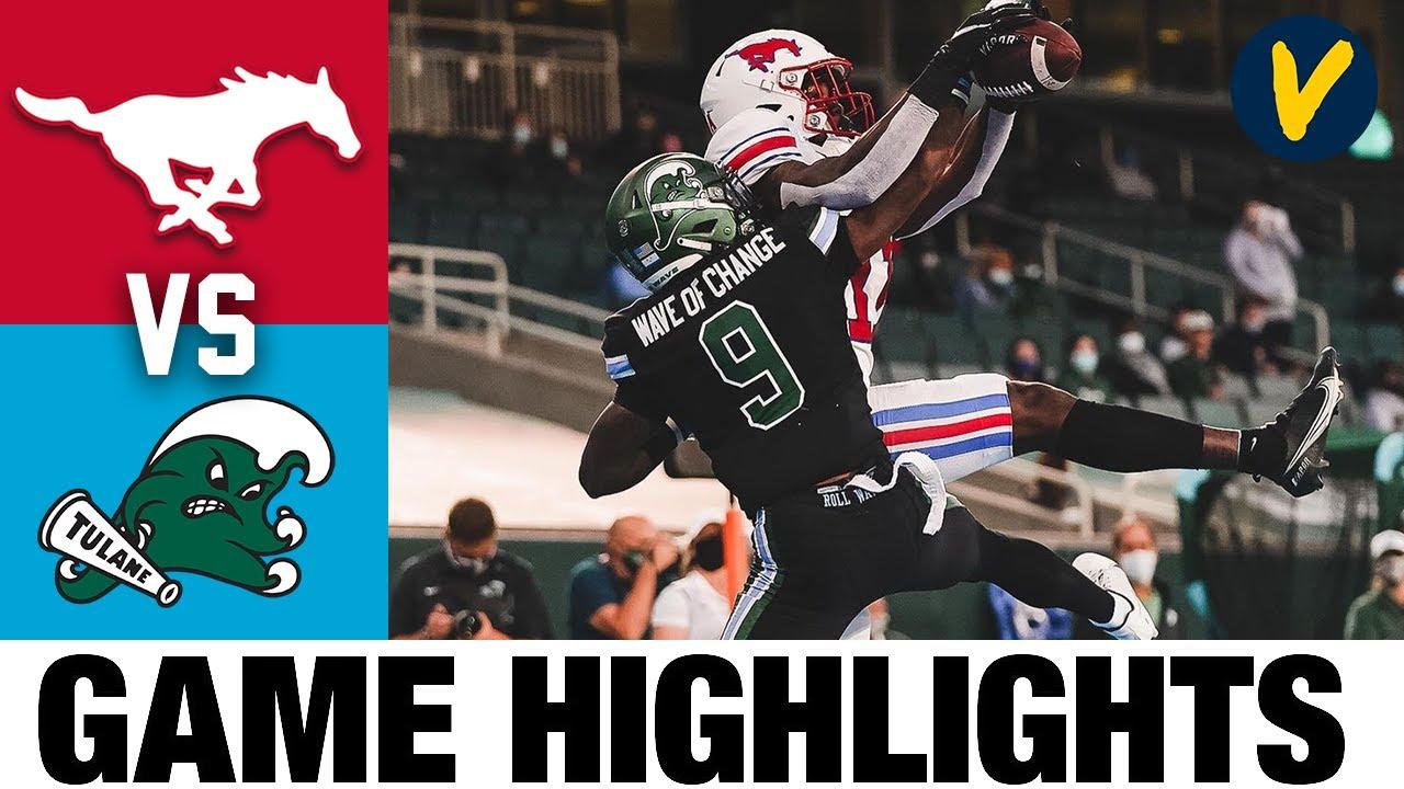 #17 SMU vs Tulane Highlights | Week 7 2020 College Football Highlights