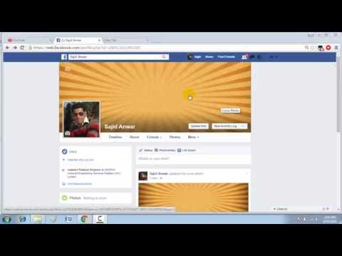 how to make old cover photo private on facebook
