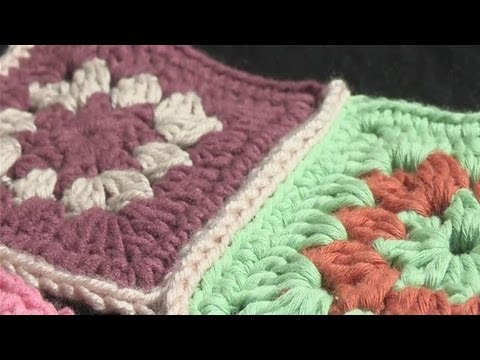 How To Attach Pieces Of Crochet Together Youtube