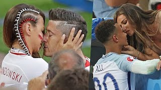 Most Craziest & Hottest Kisses in Football |HD