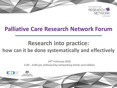 Research into practice: how can it be done systematically and effectively?