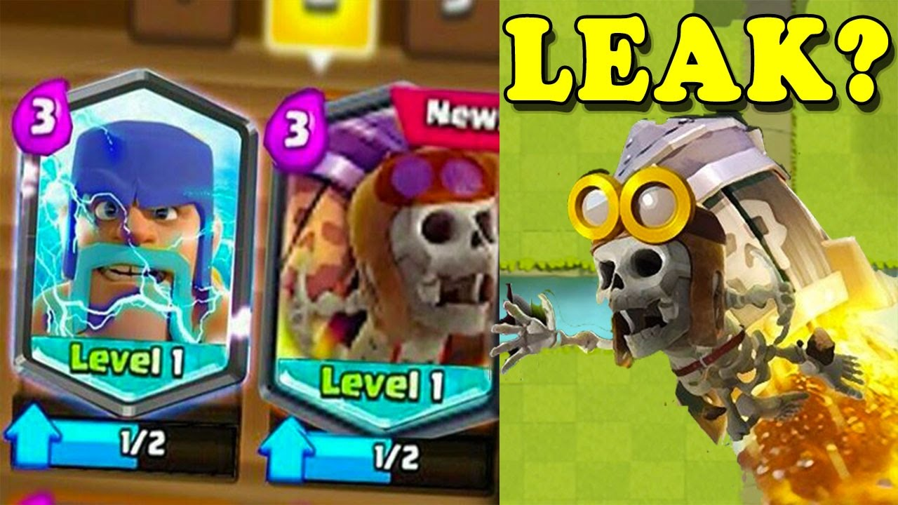 OMG! IS THIS REAL LEAK? Clash Royale NEW 2017 UPDATE ...