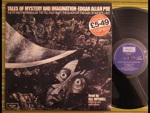 TALES OF MYSTERY AND IMAGINATION - EDGAR ALLAN POE Bill Mitchell 1977