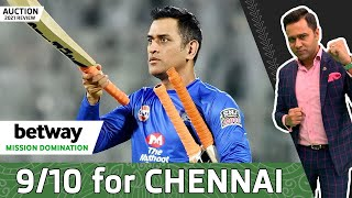 9/10 for CHENNAI in the AUCTION | Betway Mission Domination | 2021 Auction REVIEW | Aakash Chopra
