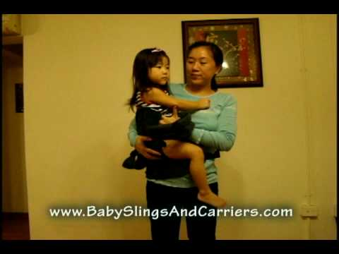 Ergonomic Patapum Baby Toddler Carrier Shift From Front To Back Carry